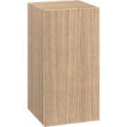 Medium cabinet with 1 door, 80x40x40 cm, right hinged