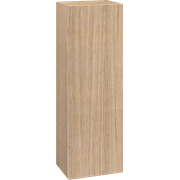 Small tall cabinet with 1 door, 120x40x30 cm, left hand hinged