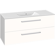 Furniture set with drawers and Simone washbasin, 120 cm