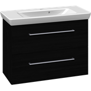 Furniture pack with drawers and Lotto washbasin, 85 cm