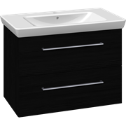 Furniture pack with drawers and Lotto XL washbasin, 85 cm