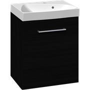 Furniture pack with 1 door and Ludo washbasin, 50 cm