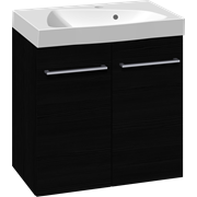 Furniture pack with doors and Ludo washbasin, 60 cm