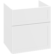 Vanity unit with 2 drawers, 64x60x44 cm