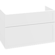 Vanity unit with 2 drawers, 64x100x44 cm