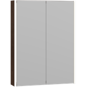 Ambi Mirror cabinet with 2 doors and LED lighting, 80x60x15 cm