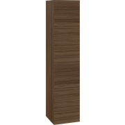 Tall unit with 2 left hinged doors, 160x35x36 cm