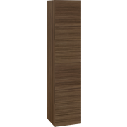 Tall unit with 2 right hinged doors, 160x35x36 cm