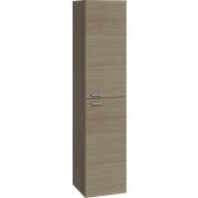 Tall unit with 2 doors and handles, 160x35x35 cm