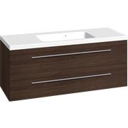 Furniture pack with 2 drawers and Aura washbasin, 120 cm