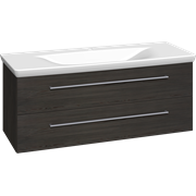 Furniture pack with 2 drawers and Azure washbasin, 120 cm