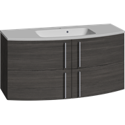 Furniture pack with 4 drawers and Limbo washbasin, 120 cm