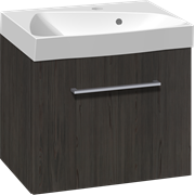 Furniture set with drawer and Ludo washbasin, 50 cm