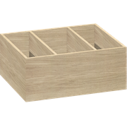 Devider for tall drawer, 14x33x26 cm