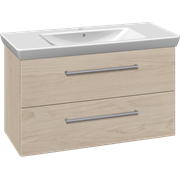 Furniture pack with drawers and Lotto XL washbasin, 105 cm