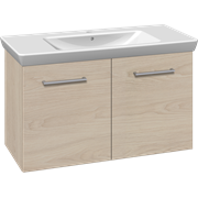 Furniture pack with doors and Lotto XL washbasin, 105 cm