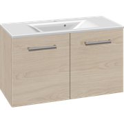 Furniture pack with doors and Mikado washbasin, 100 cm