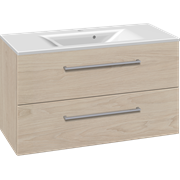 Furniture pack with drawers and Mikado washbasin, 100 cm