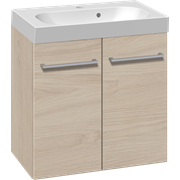 Furniture set with 2 doors and Uno washbasin, 60 cm
