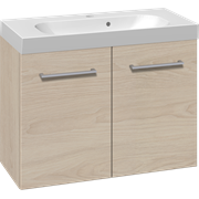 Furniture set with 2 doors and Uno washbasin, 80 cm
