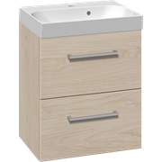 Furniture set with drawers and Uno washbasin, 50 cm