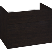 Large cabinet 2 drawer and push-open, 60x80x50 cm