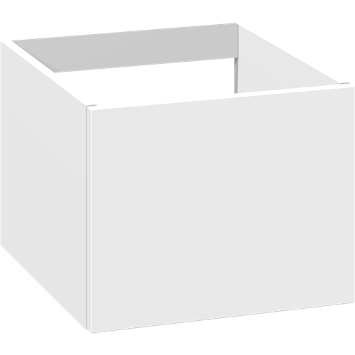 Cabinet 40 cm for worktops and right-/left placed sit-on washbasins with 1 drawer