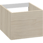 Cabinet 40 cm for worktops and right-/left placed sit-on washbasin with 1 drawer