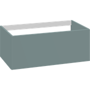 Cabinet 80 cm for worktops and right-/left placed sit-on washbasin with 1 drawer