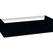 Cabinet 120 cm for worktops and right-/left placed sit-on washbasin with 1 drawer