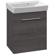Furniture set with vanity unit and Cappella washbasin, 52 cm