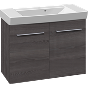 Furniture set with vanity unit and Cappella washbasin, 82 cm