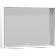Display Framed mirror with shelf and adjustable light, 60x80x14 cm