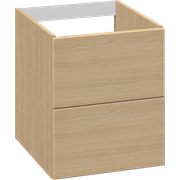 Base unit for countertop 40 cm with 2 drawers
