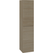 Tall unit with 2 doors, 160x35x35 cm