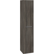 Tall unit with 1 door, 173x35x35 cm